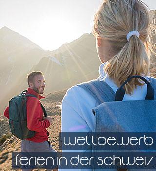 Personen in der Natur in der Schweiz