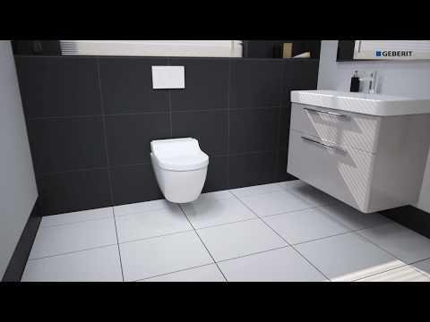 Geberit AquaClean Tuma Classic - Functionality
