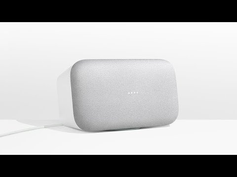 Meet Google Home Max