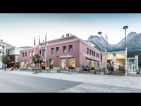 Badehotel Belvair Scuol / Engadin