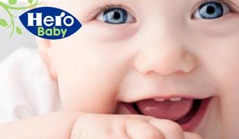 Gratismuster von Hero Baby bestellen