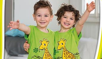 Gratis LEGO® DUPLO® T-Shirt erhalten