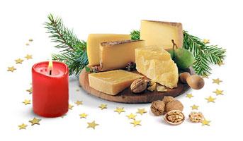 Schweizer Käse Adventskalender