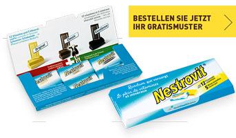 Bestelle jetzt ein Nestrovit Gratismuster
