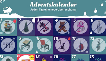 vidaXL Adventskalender