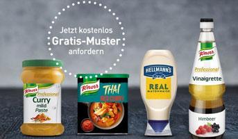Unilever Gratismuster