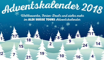 Aldi Suisse Tours Adventskalender
