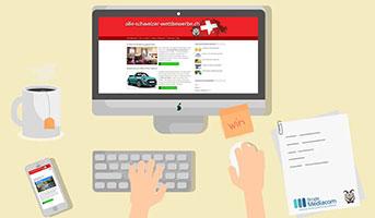 Online-Portal für Wettbewerbe