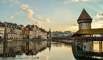 Sicht auf Luzern