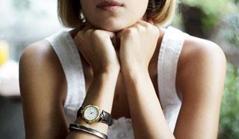 Uhr und Bracelet