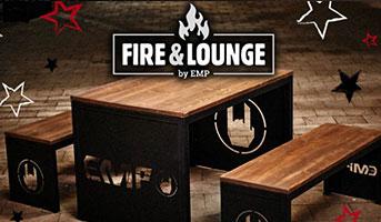 Fire & Lounge Sitzgruppe