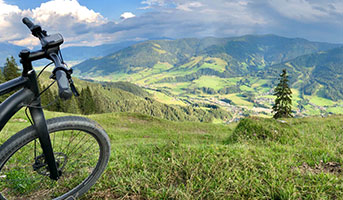 E-Bike in den Alpen