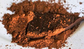 Schokoladen Pulver