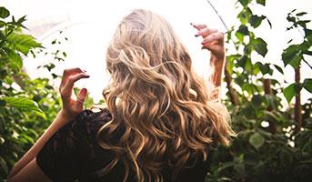 Volles Haar