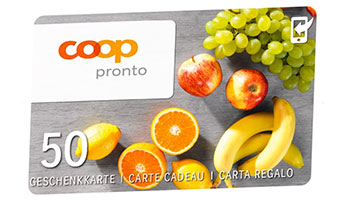 Coop Pronto Geschenkkarte