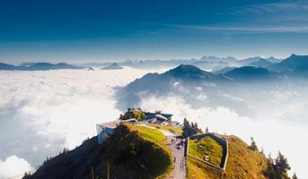 SAC Hütten in den Alpen