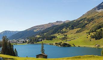 See Davon in Graubünden